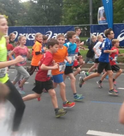 Schweinheimer Nachwuchsläufer beim Minimarathon