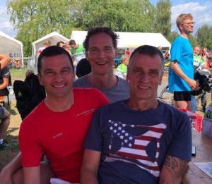 18.08.2019 - Schwoijer Triathlon-Staffel beim Rodgau Triathlon