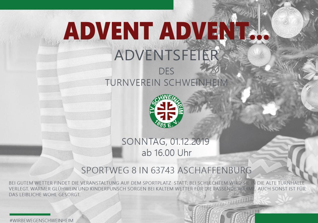 Advent Advent... Adventsfeier des Tunrverein Schweinheim