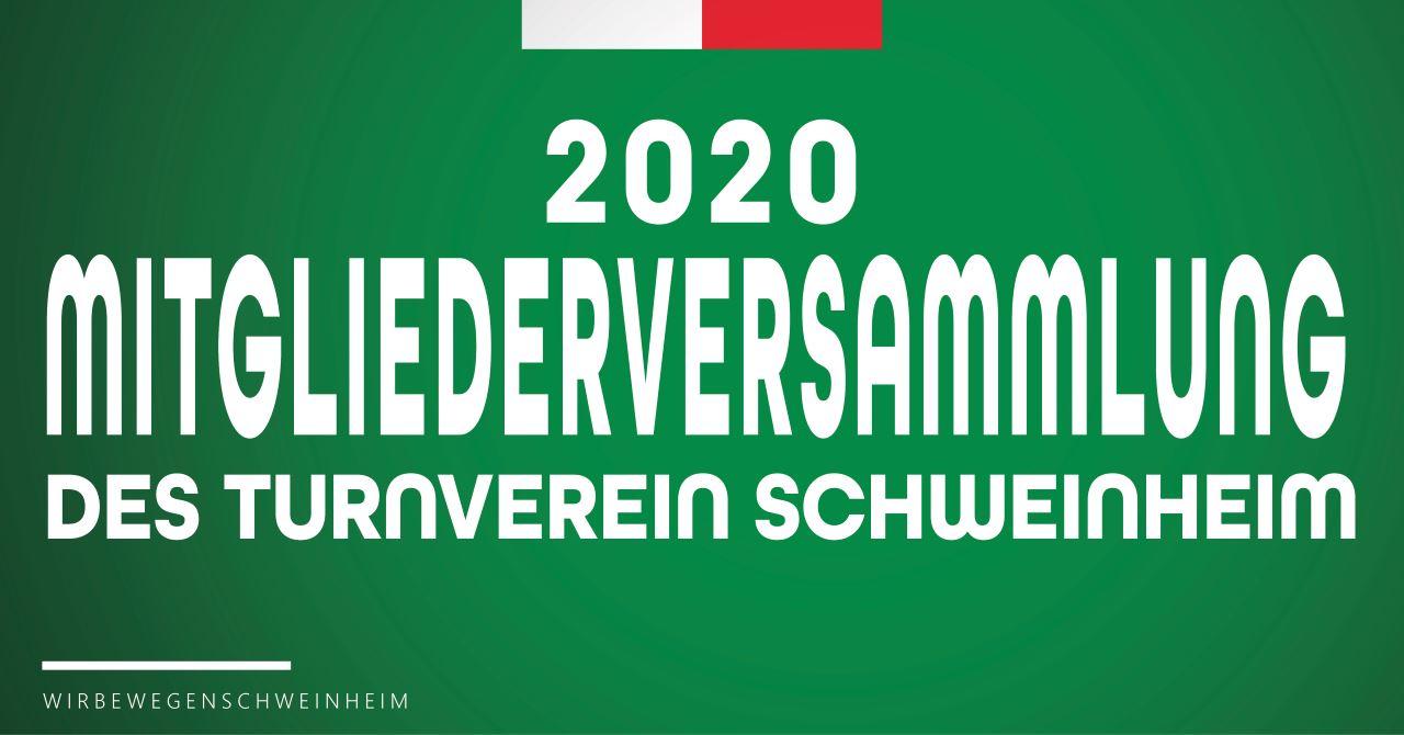 Ankündigung Mitgliederversammlung 06.03.2020
