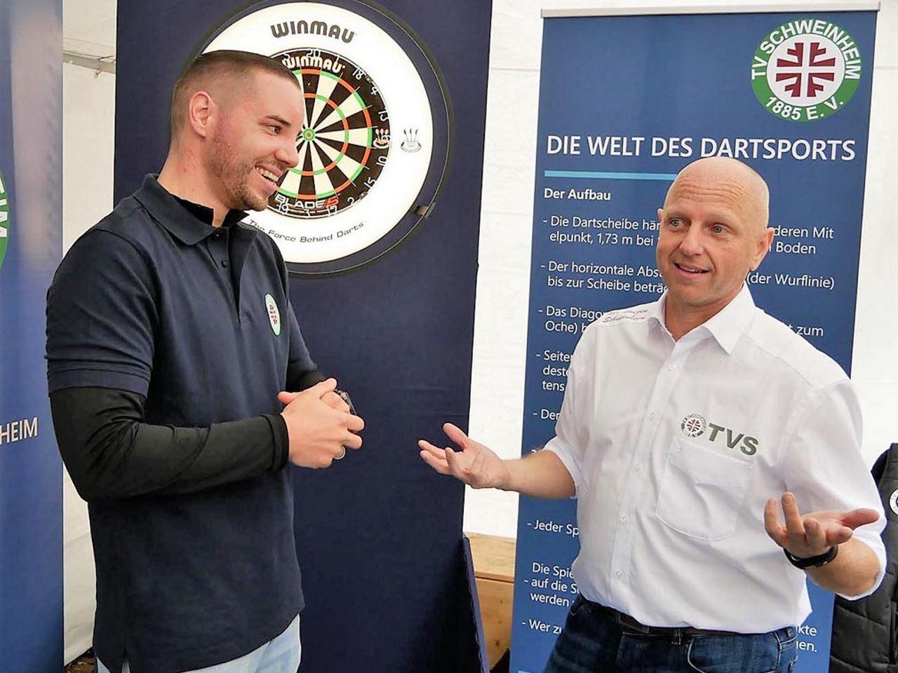 TV Schweinheim - Interview mit Christoph Wolf (Abteilungsleiter Dart)