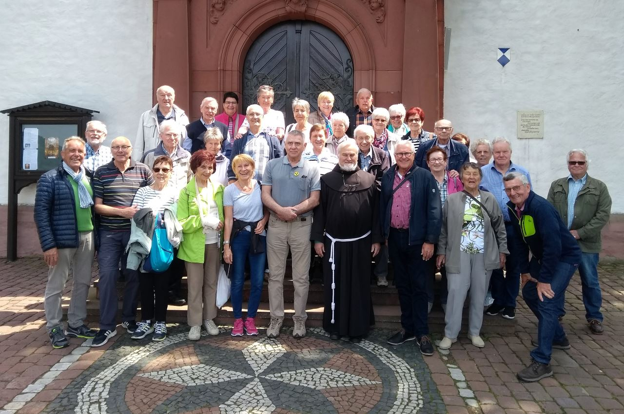 TV Schweinheim Senioren-Wanderung zum Kloser Engelberg 2019