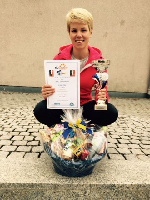 Julia Roth Sieger Sunbedlauf Kleinostheim 2014