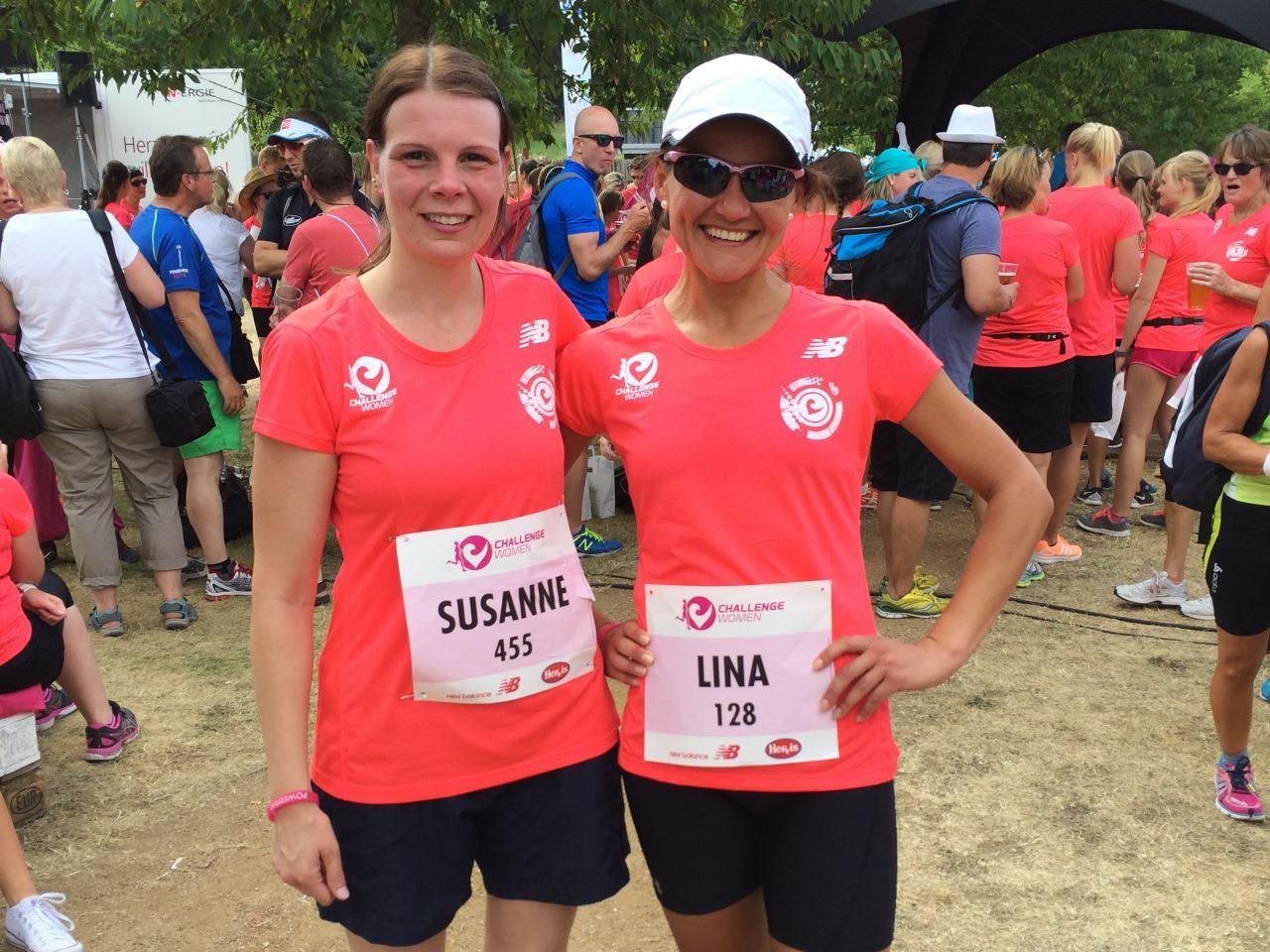 Susanne und Lina beim Challenge Women 2015