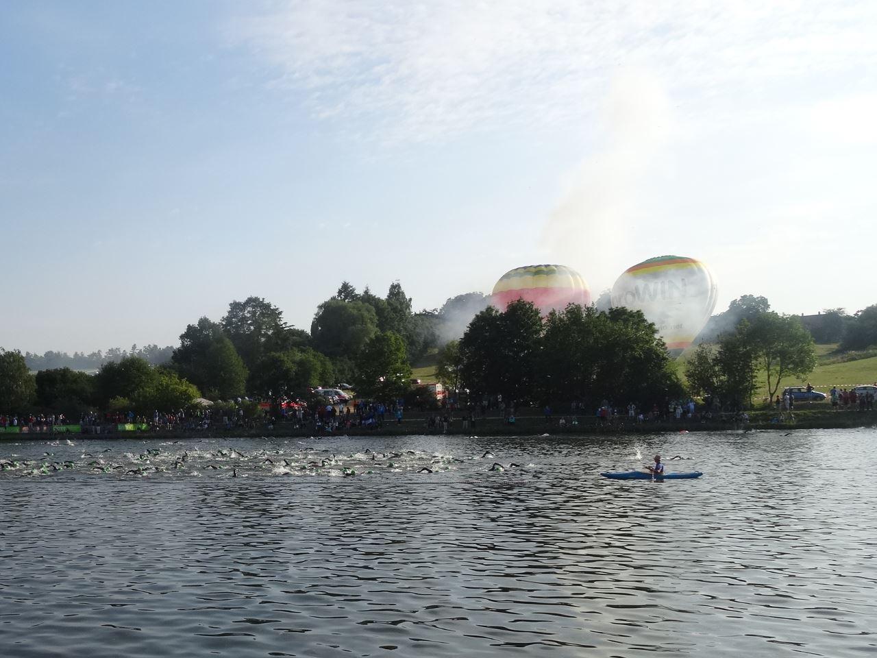 Schwimmstart Challenge Roth 2015