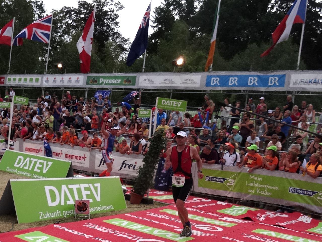 Challenge Roth 2015 Zieleinlauf Markus