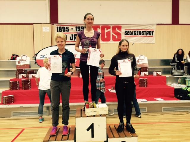 Julia Roth Gesamtzweite beim 36. EVO Wasserlauf in Seligenstadt
