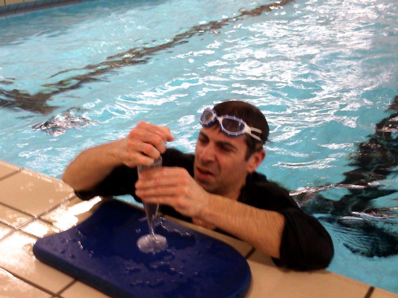 TV Schweinheim - Faschingsschwimmtraining 2016