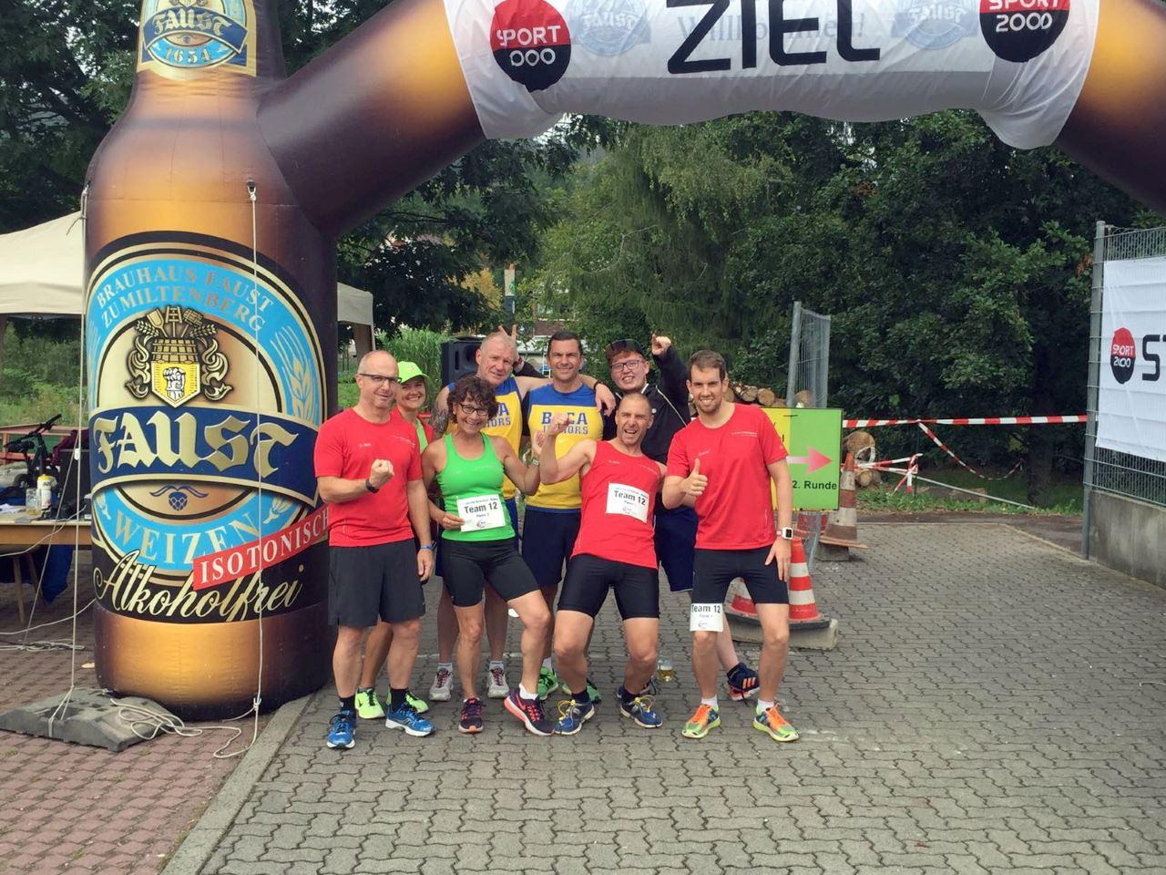 TV Schweinheim Ausdauersport beim Sommerbiathlon Laufach 2016