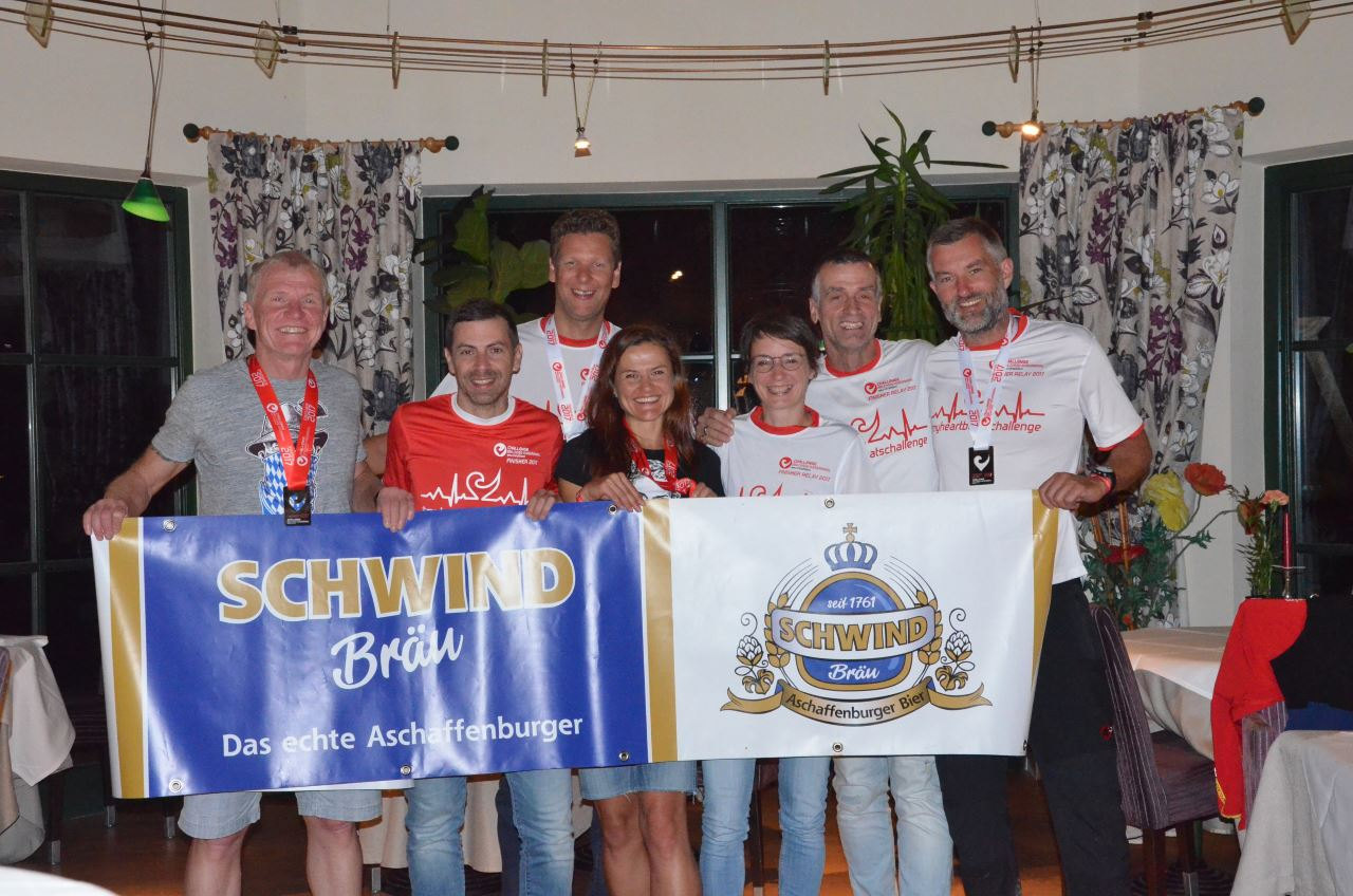 Triathleten des TV Schweinheim beim Challenge Walchsee 2017
