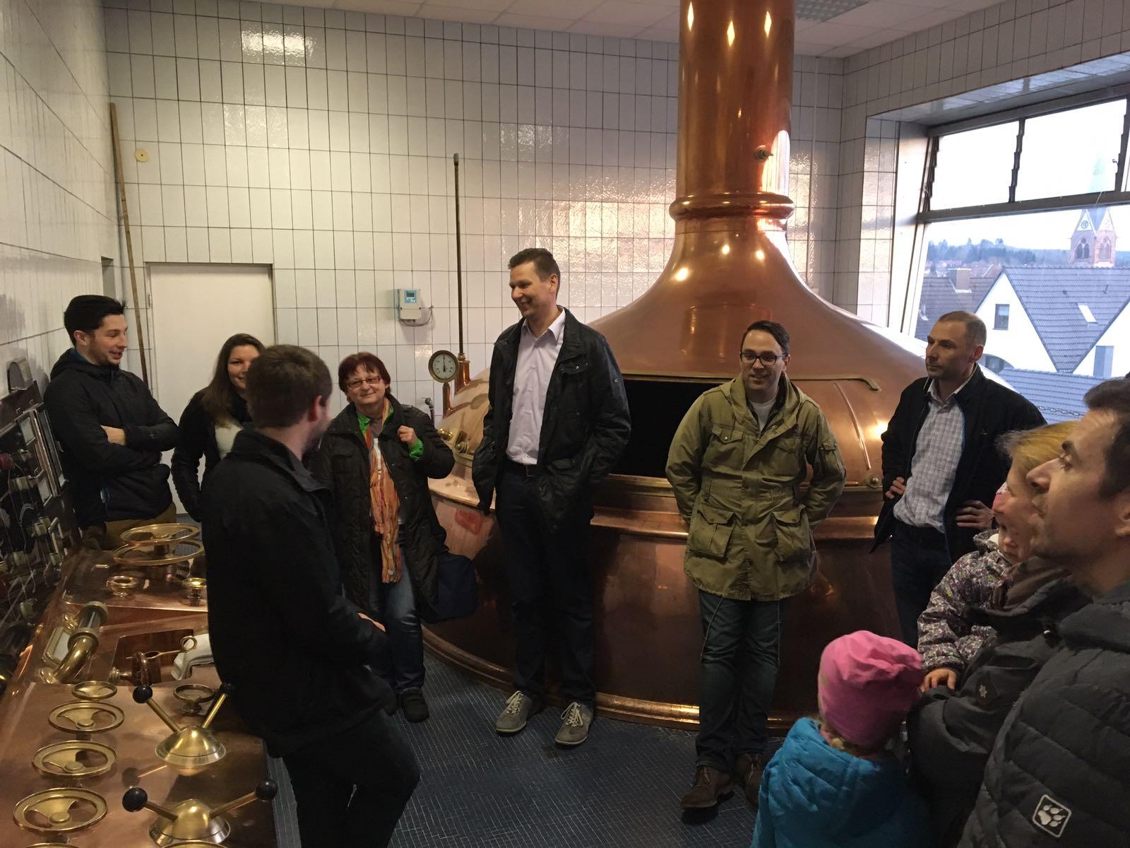 TV Schweinheim Ausdauersport Brauereibesichtigung Schwindbräu März 2017