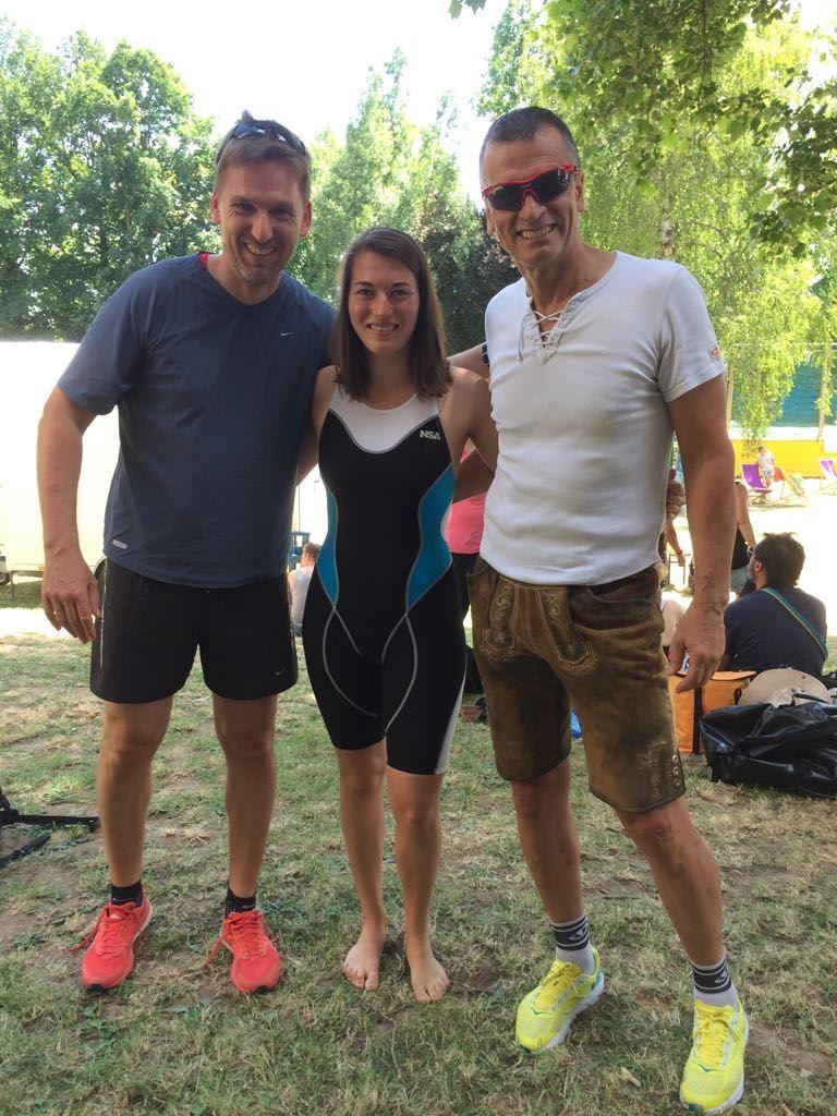 TV Schweinheim Triathlon Staffel beim Quaterman Bruchköbel 2018