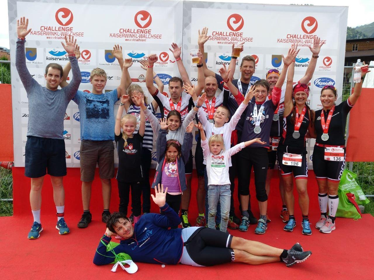 TV Schweinheim Triathlon bei der Challenge Walchsee 2018