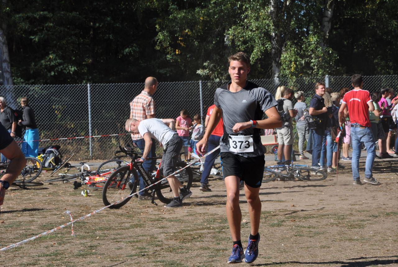 TV Schweinheim beim Triathlon in Alzenau 2018