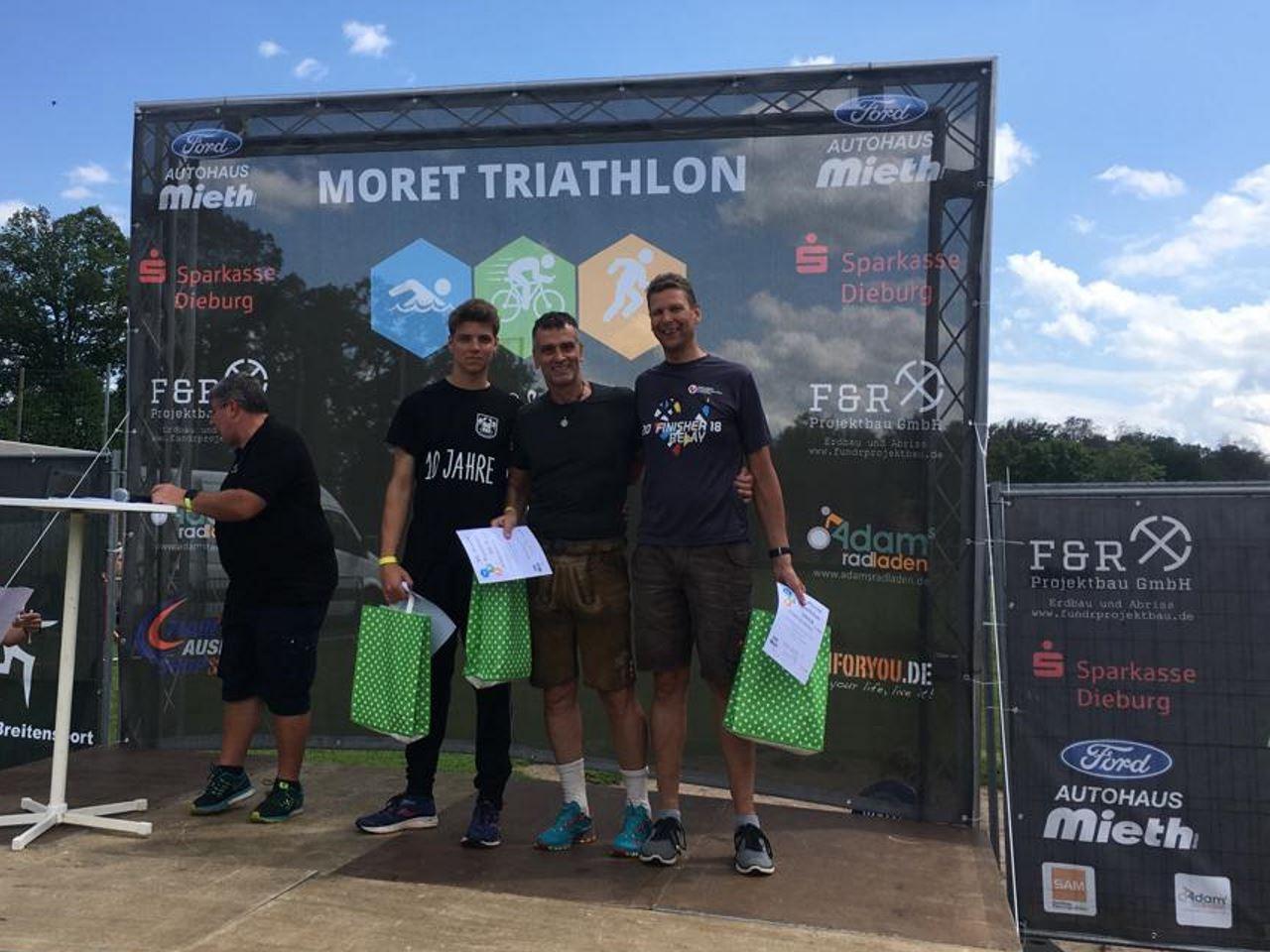 TV Schweinheim Ausdauersport beim Moret-Triathlon 2019