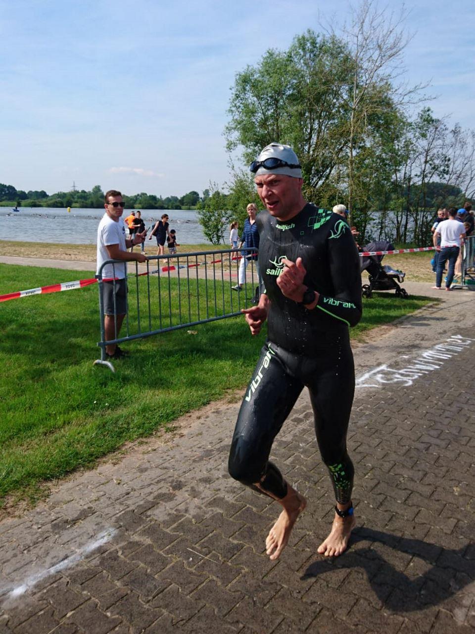 TV Schweinheim Staffel -Sieger beim Kinzigman Triathlon 2019