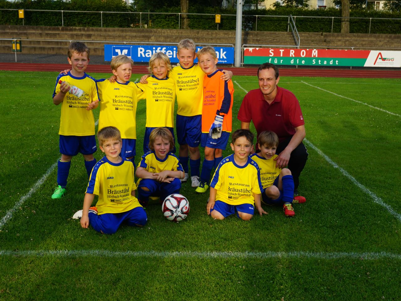 TV Schweinheim Fußball - U7 Stadtmeisterschaft 2016