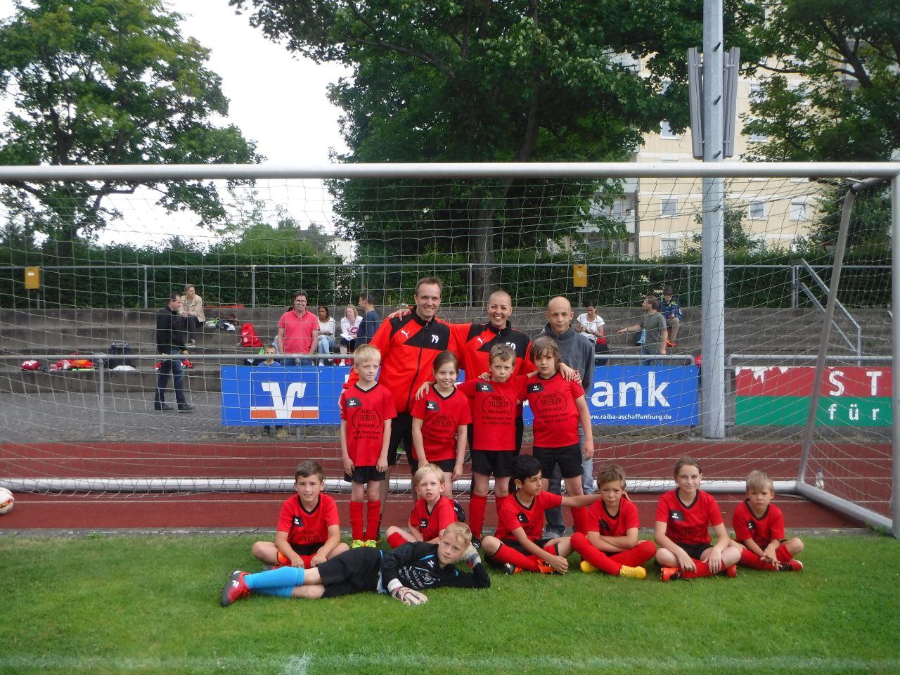 F2-Jugend des TV Schweinheim bei Junioren Stadtmeisterschaft 2017