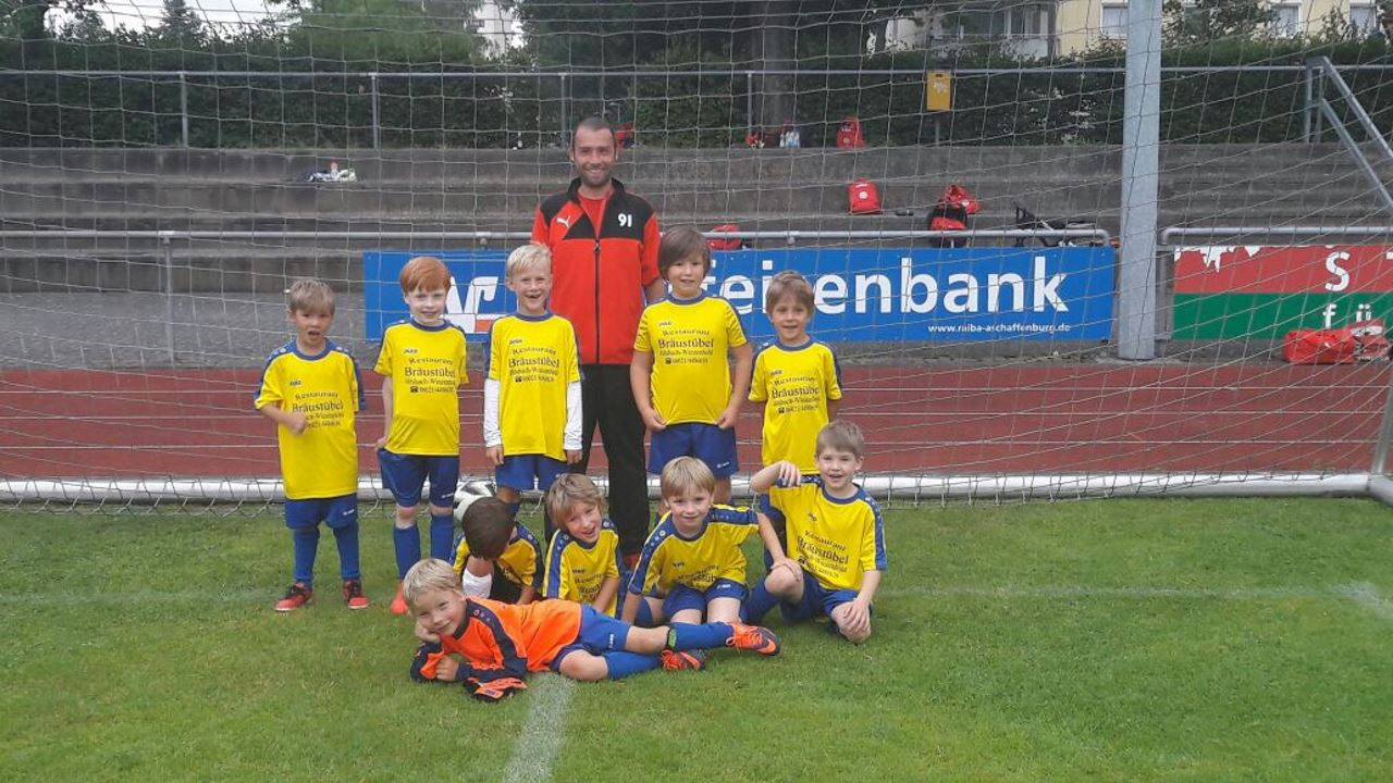 G1-Jugend des TV Schweinheim bei Junioren Stadtmeisterschaft 2017