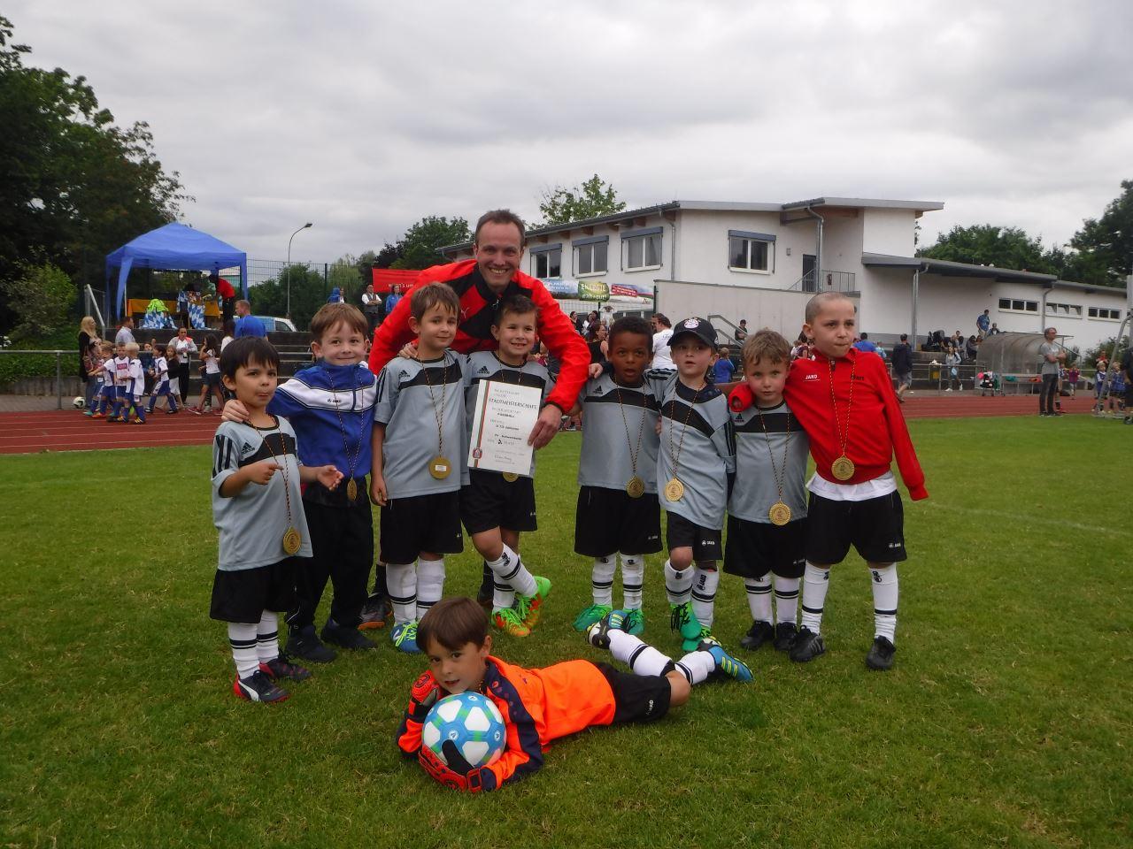 G2-Jugend des TV Schweinheim bei Junioren Stadtmeisterschaft 2017