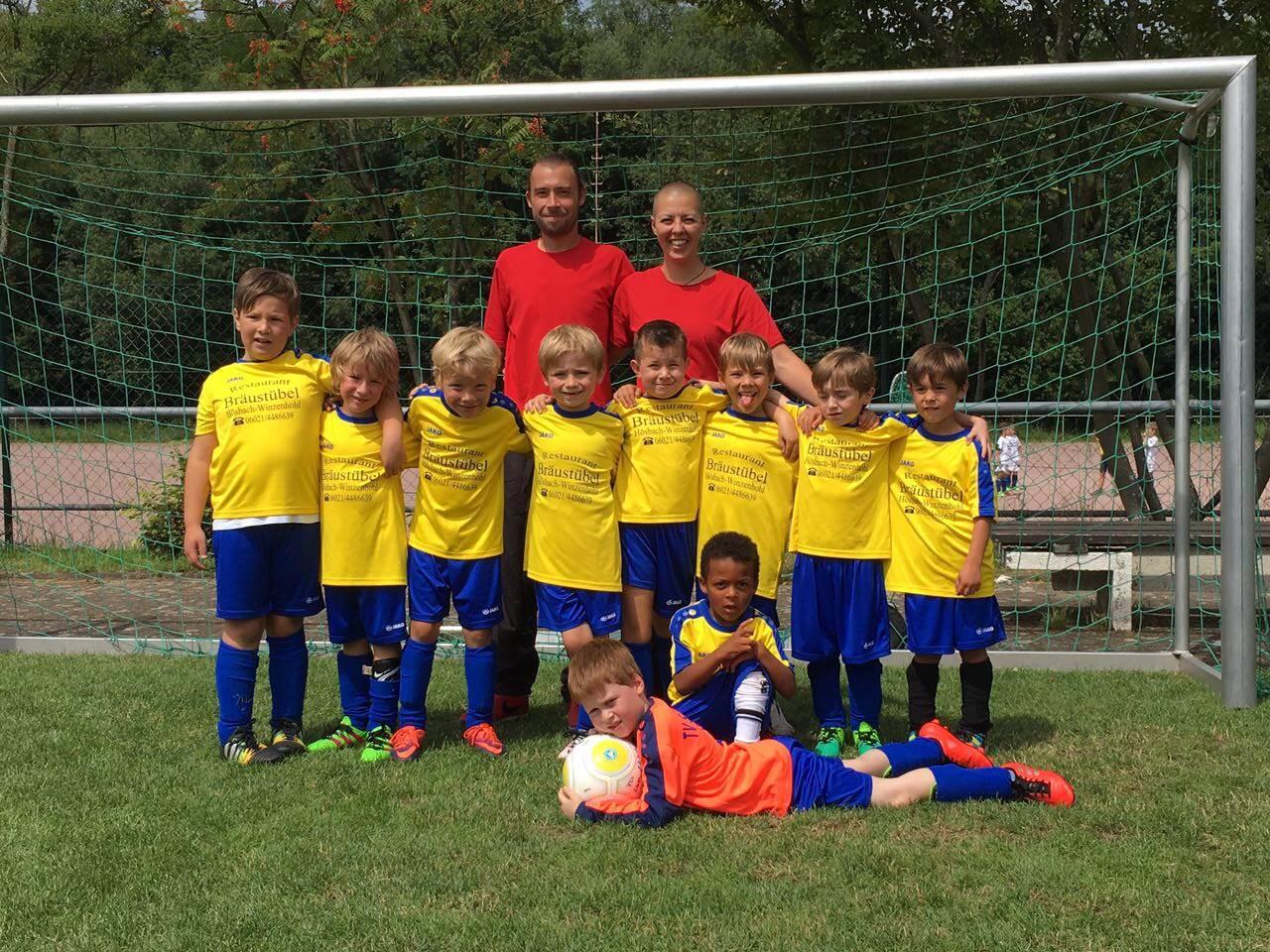 TV Schweinheim Fußballjugend beim Pfaffenberg Junior–Cup 2017 in Glattbach