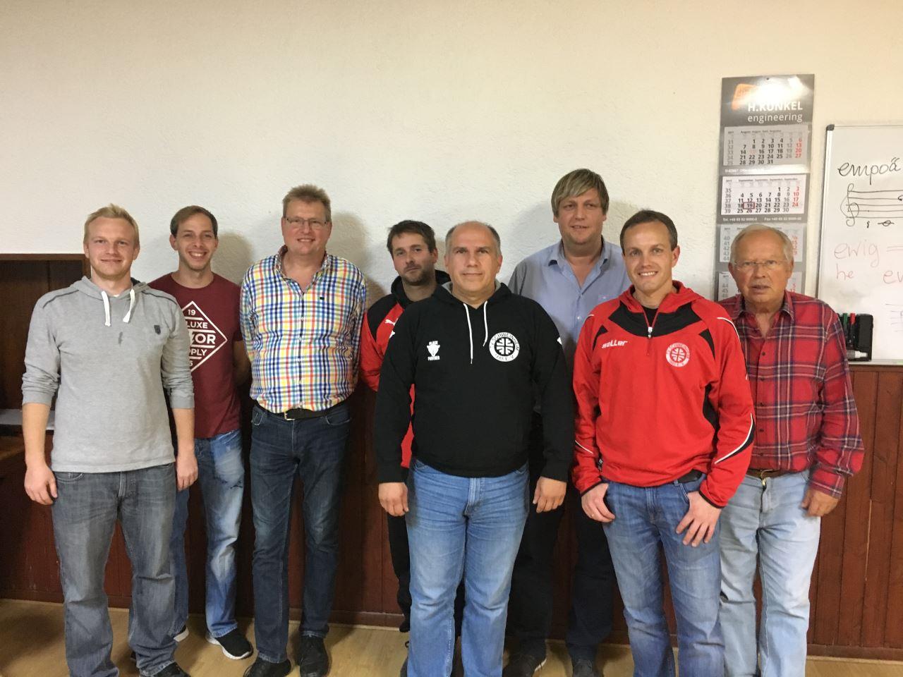 TV Schweinheim Abteilungsleitung Fußball 2017