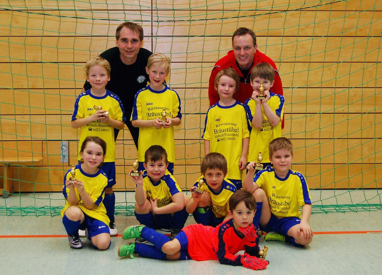 TV Schweinheim Fußball-Jugend beim Lindig-Cup 2017