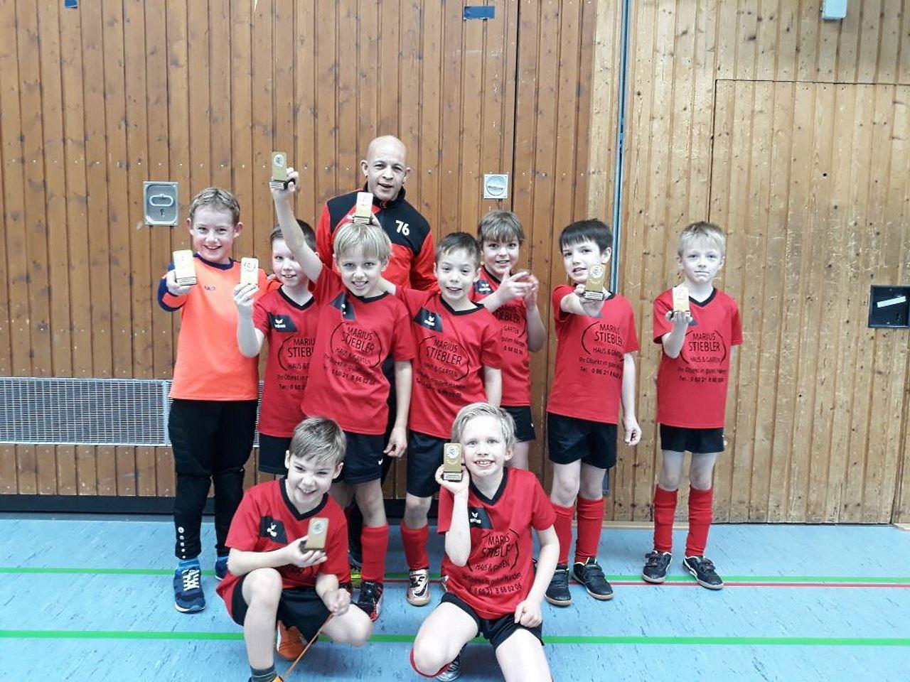 TV Schweinheim Fußballjugend beim Schreinerteamcup 2018