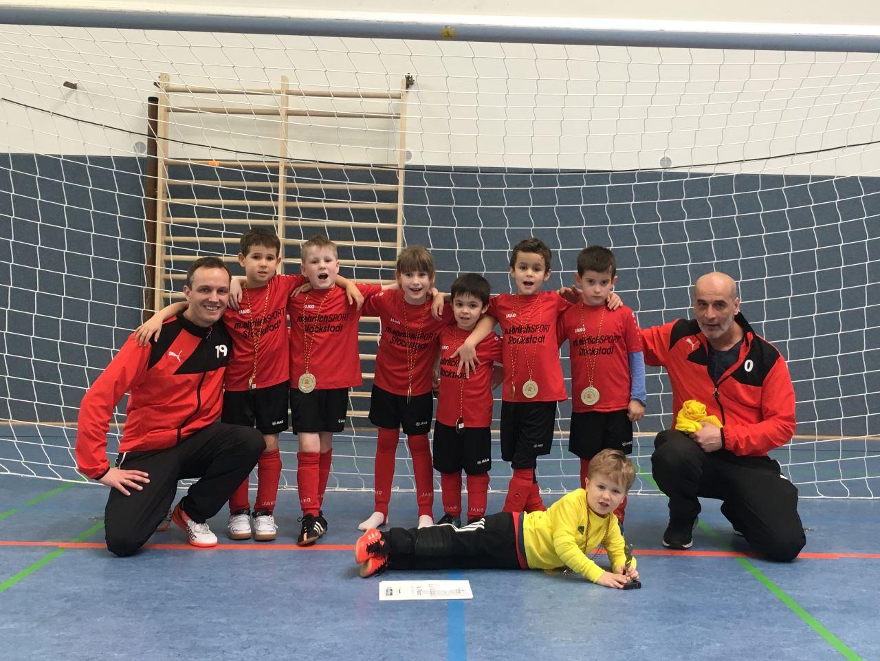 TV Schweinheim Fußball-Jugend beim Main-Bogen-Junior-Cup 2018 in Erlenbach
