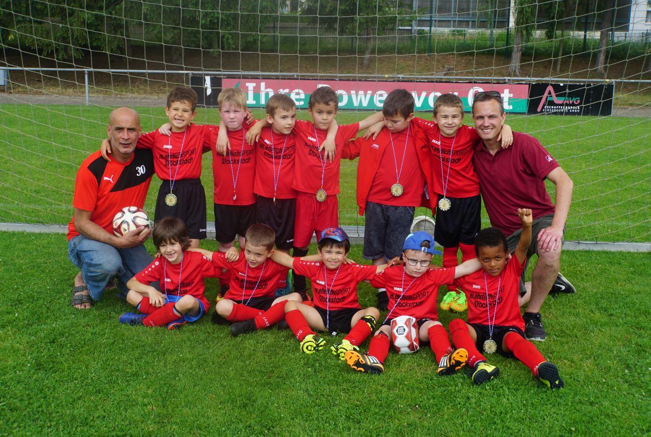 TV Schweinheim Fußballjugend beim Spieltag in Nilkheim 2018
