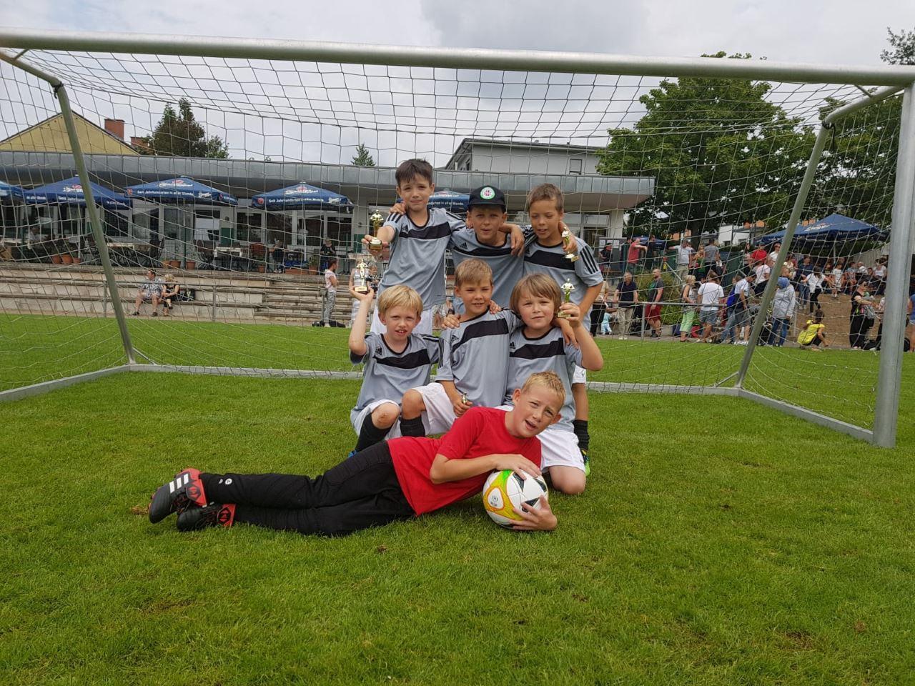 TV Schweinheim Fußballjugend beim Sommer-Cup 2018 in Strietwald