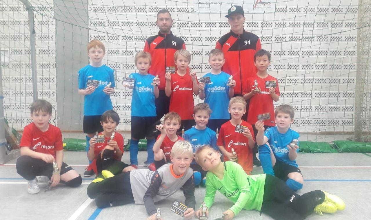 TV Schweinheim Fußball Jugend beim Puma-Cup 2018