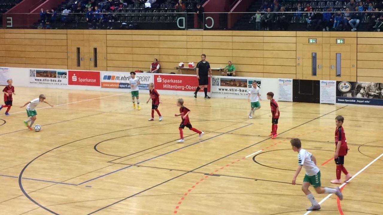TVS Fußballjugend gegen Greuther Fürth 2019