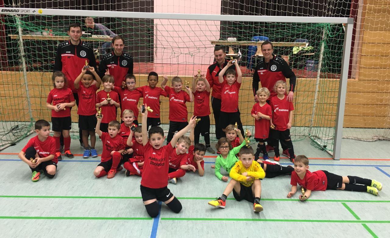 TV Schweinheim Fußballjugend beim Lindic-Cup in Dettingen 2019