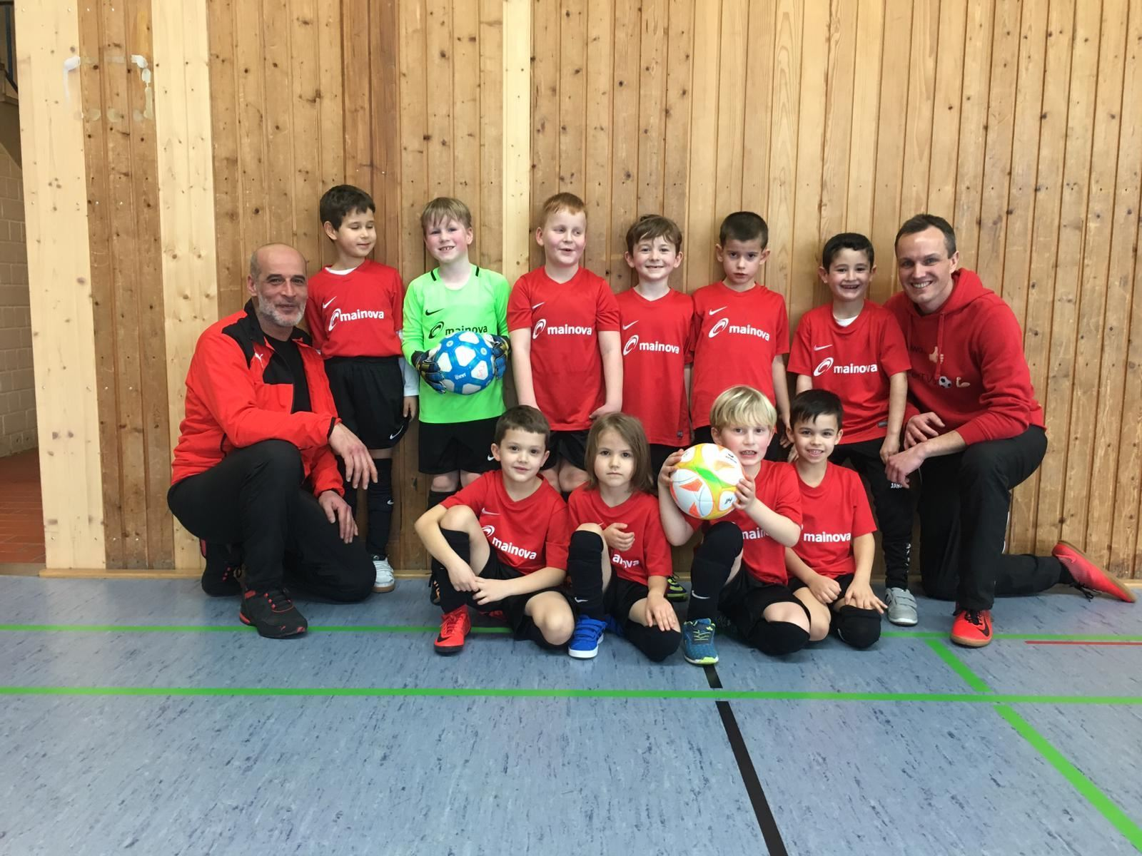 TVS Nachwuchs beim Schreinerteam– Cup 2019
