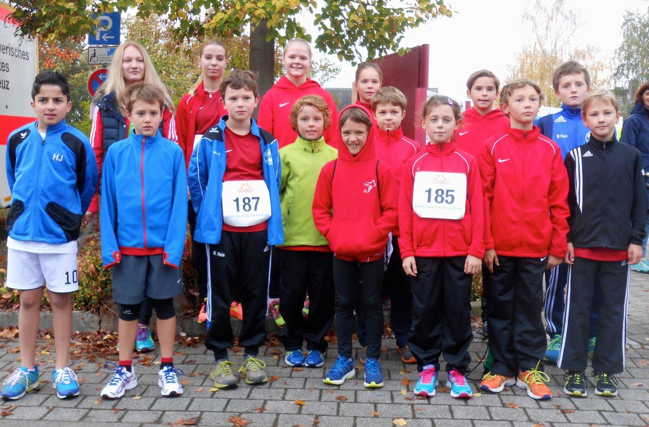 Gruppenbild Sunbedlauf Kleinostheim Oktober 2014