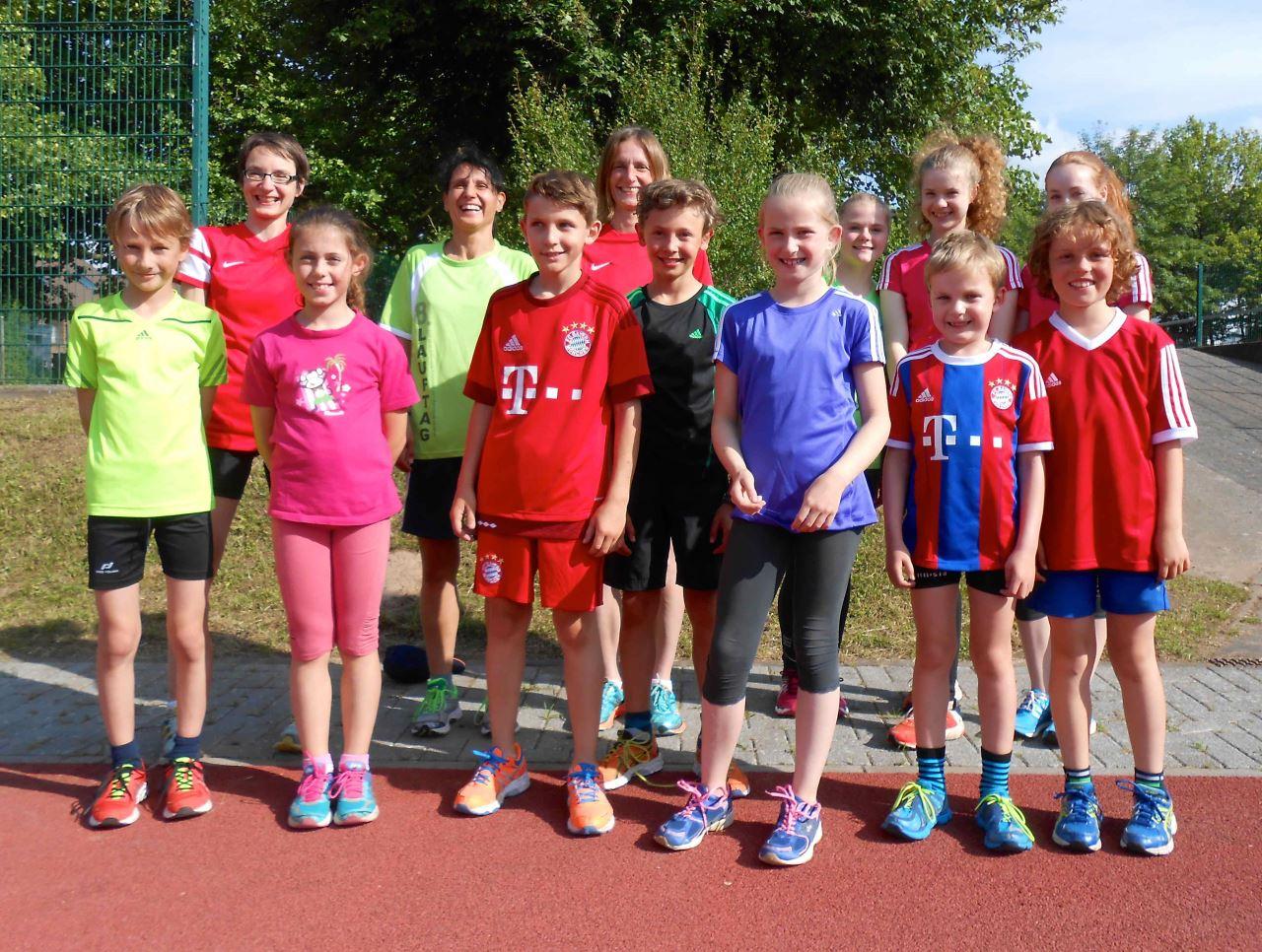 TVS Leichtathletik bei Kreisstaffelmeisterschaften 2015 in Stockstadt