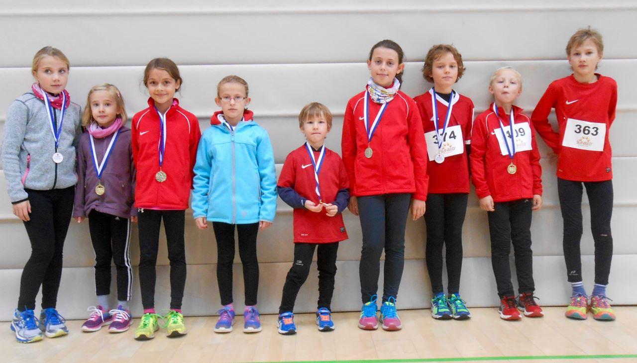TV Schweinheim Leichtathletik beim 8. Sunbed Volks- und Straßenlauf in Kleinostheim