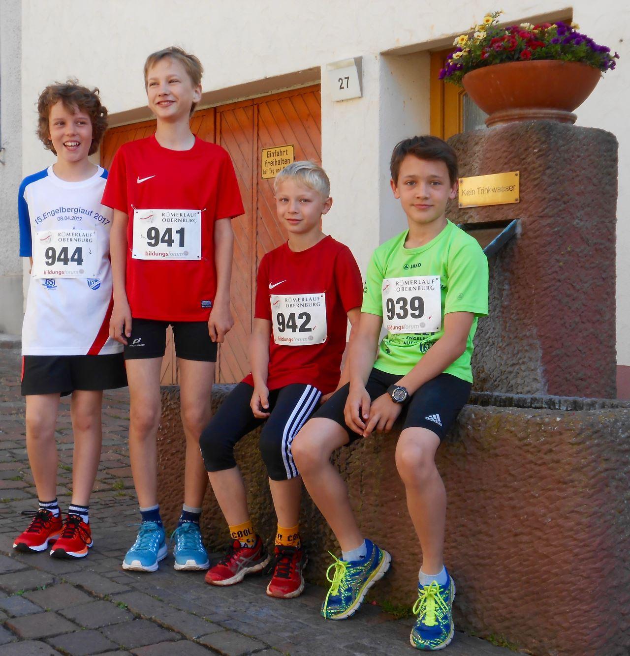 Leichtathletik TV Schweinheim beim Römerlauf 2017 in Obernburg