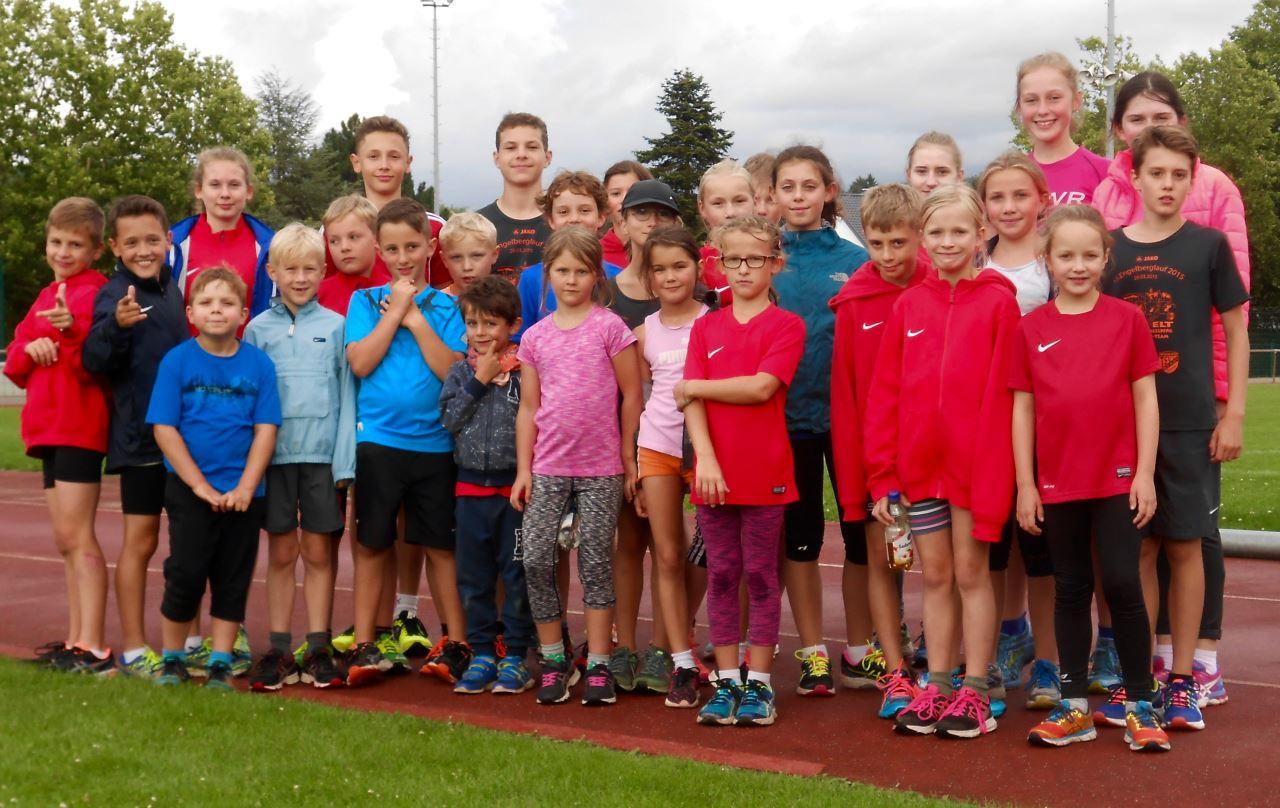 TV Schweinheim Leichtathletik Abschlusstraining Sommer 2017