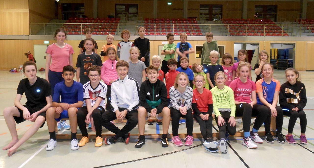 TV Schweinheim Leichtathletik - Siegerehrung Wettkampf-Ranking 2017
