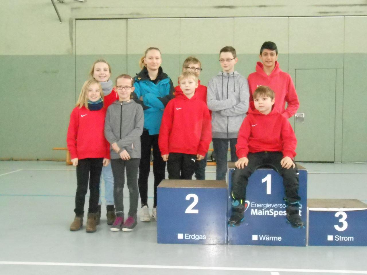 TV Schweinheim Leichtathletik biem Cross-Cup Bayerischer Untermain 2018