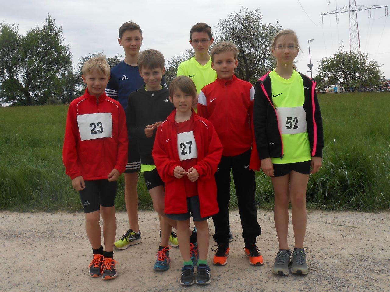 TV Schweinheim Leichtathletik beim CrossDuathlon in Kleinostheim