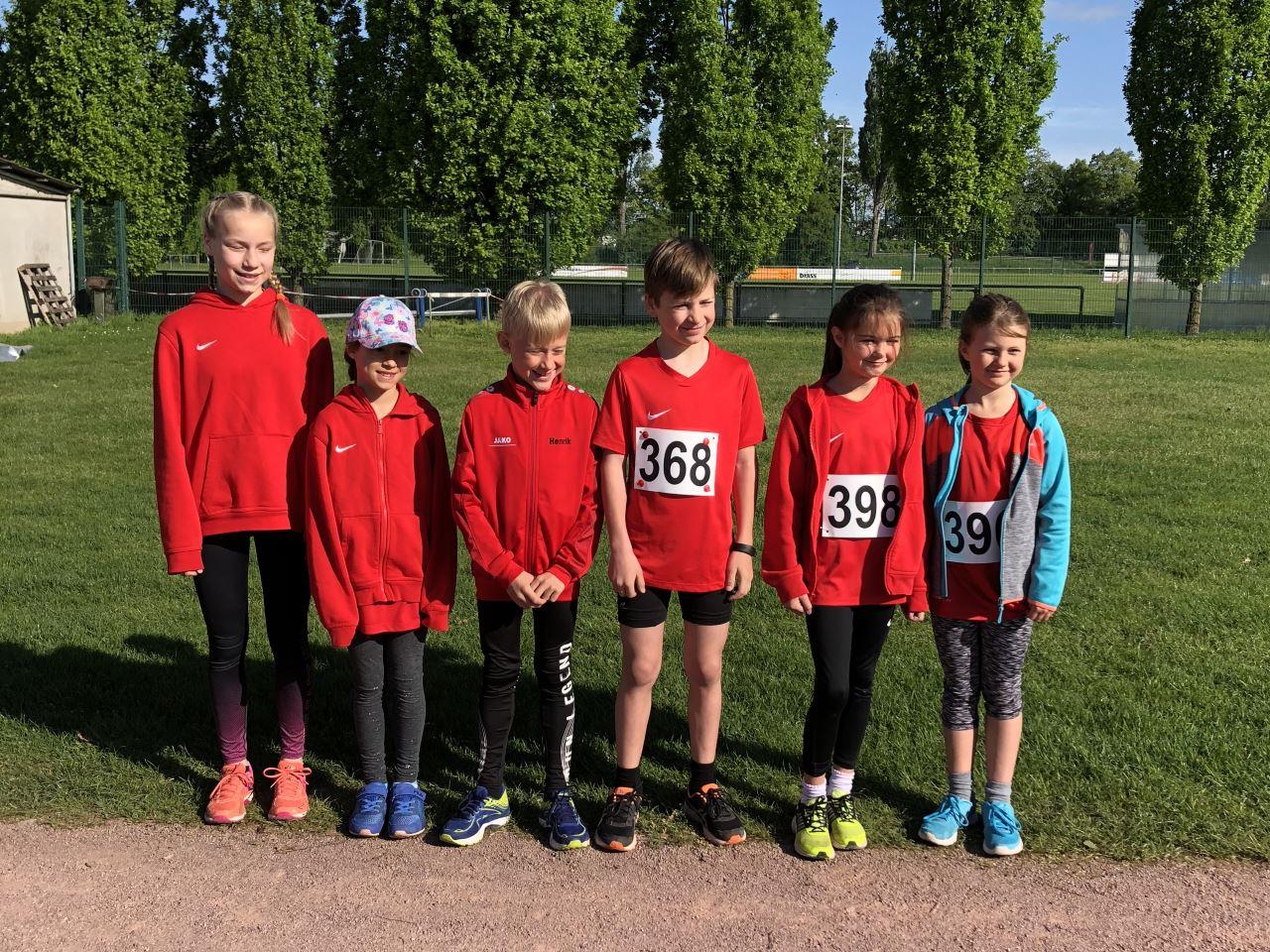 TV Schweinheim Leichtathletik beim Kinder- und Jugendsportfest der DJK Aschaffenburg