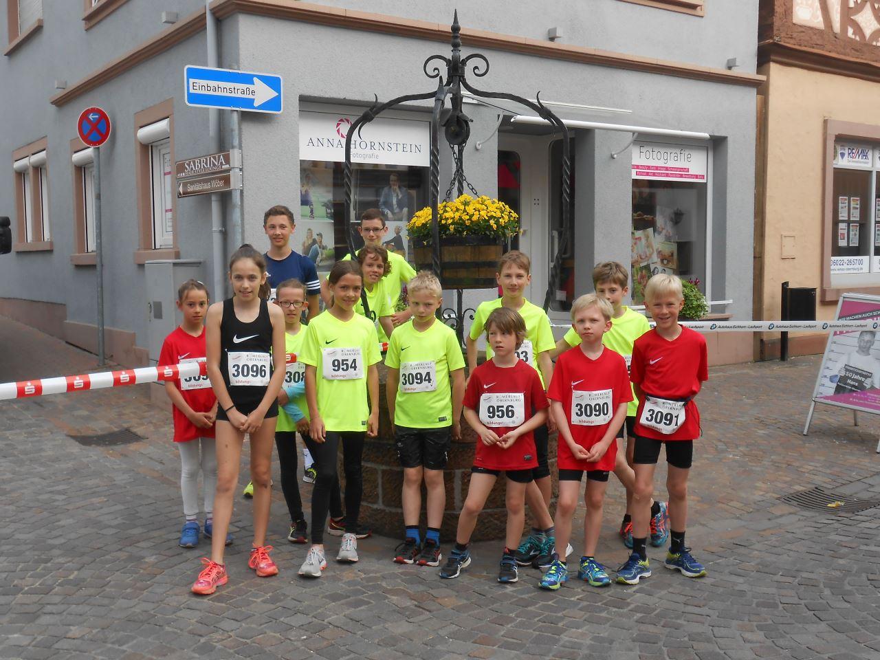 TV Schweinheim Leichtathletik beim Römerlauf in Obernburg 2018