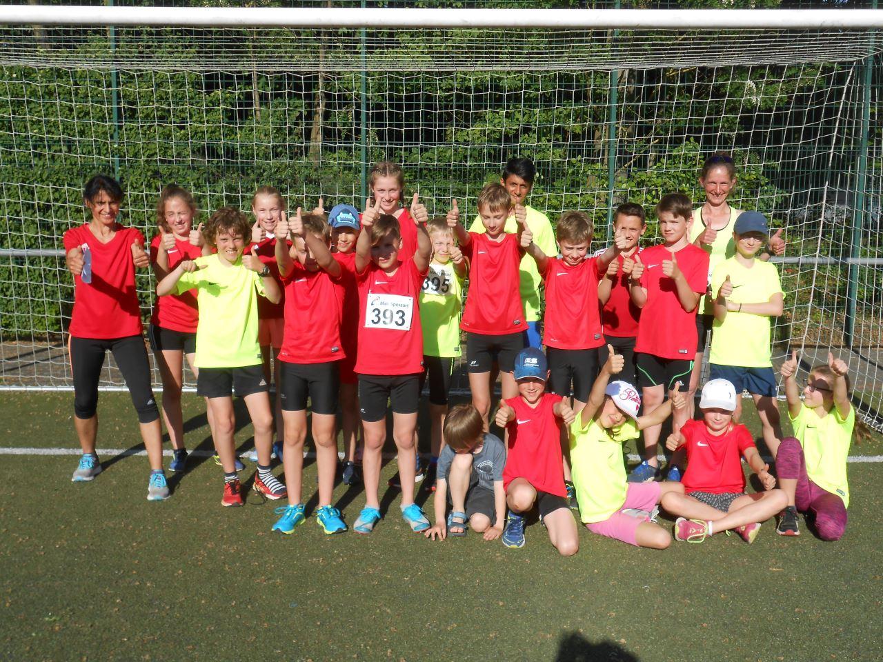 TV Schweinheim Leichtathletik bei den Staffelmeisterschaften in Stockstadt
