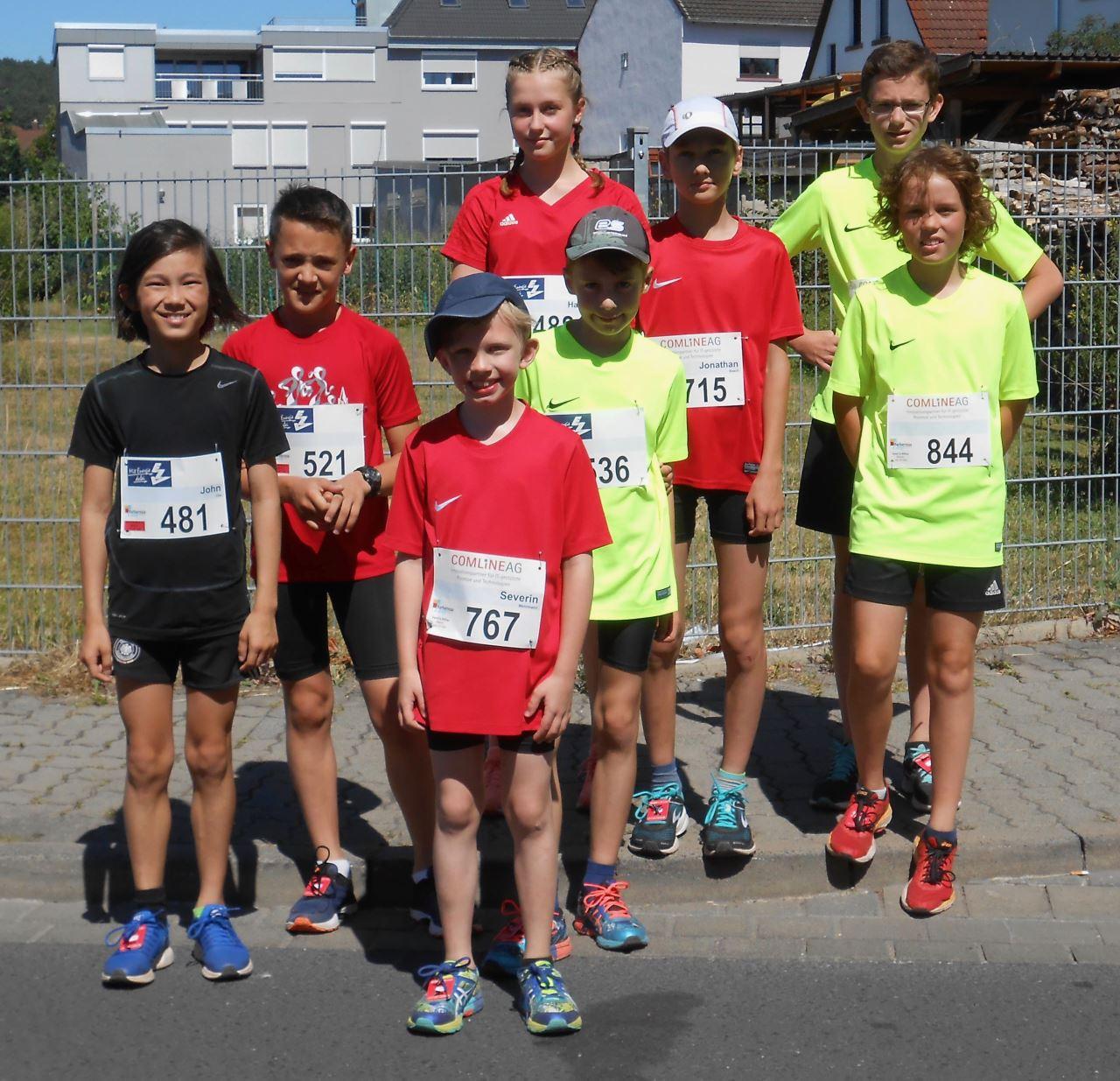 TV Schweinheim Leichtathletik beim Barbarossalauf in Erlenbach 2018
