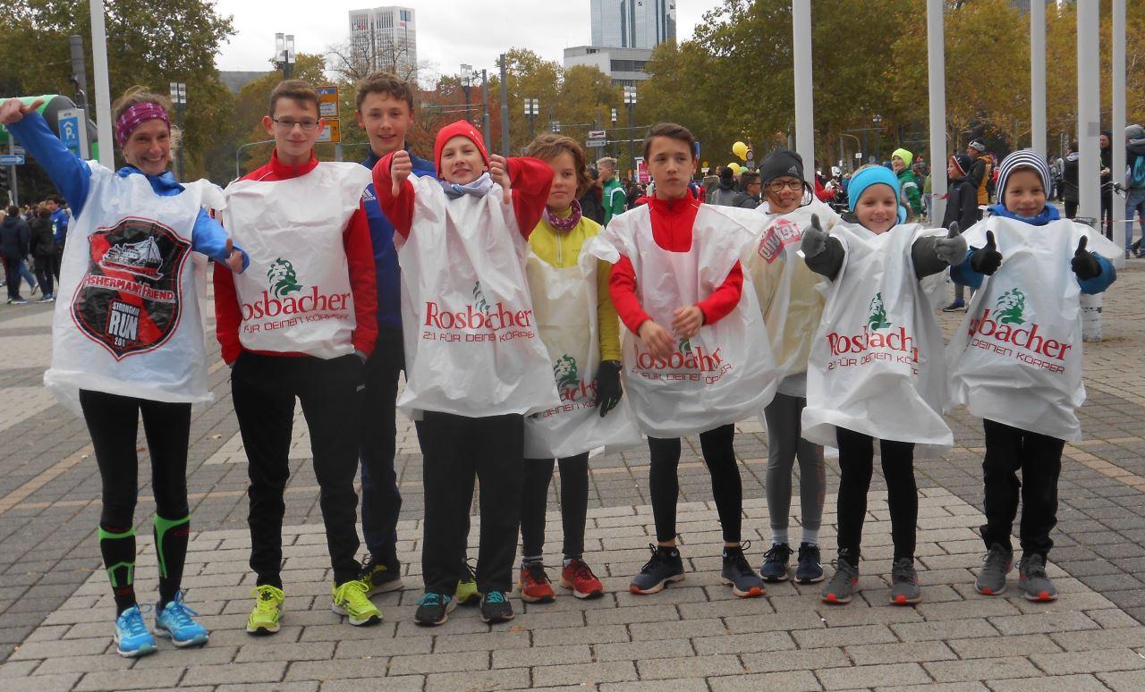 TV Schweinheim Leichtathletik beim Mini-Marathon Frankfurt 2018