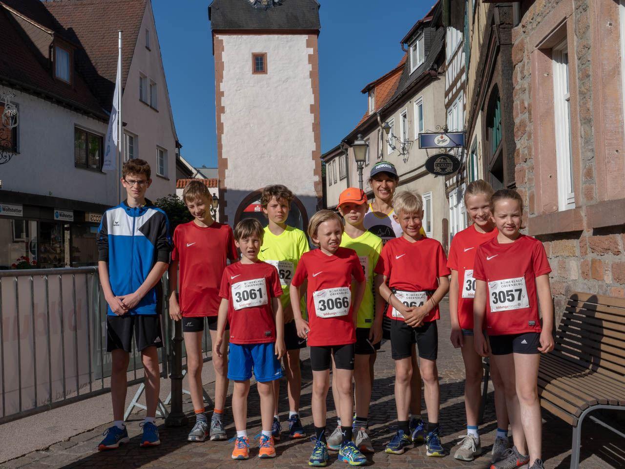 TV Schweinheim Leichtathletik beim Römerlauf in Obernburg 2019