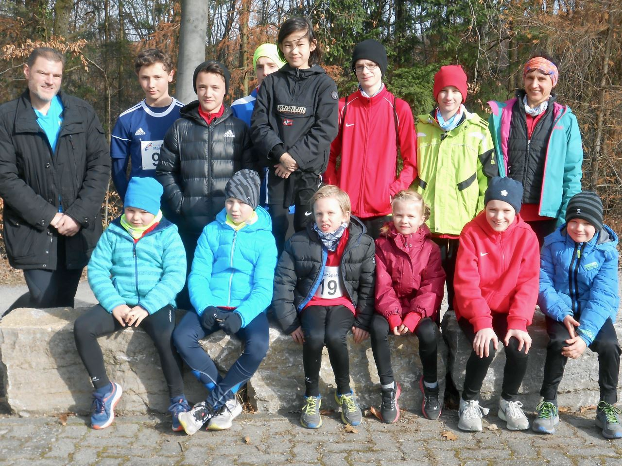 TV Schweinheim Leichtathletik beim 3. Lauf des Cross-Cups 2019 in Haibach